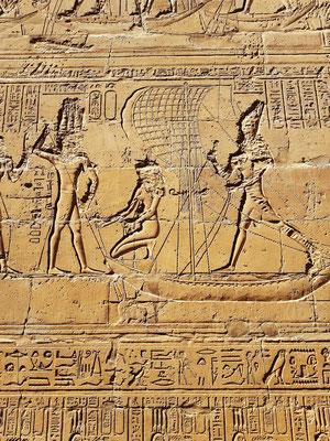"""Das """"Fest des Aufhackens der Erde"""" aus dem Osirismythos bezüglich der Tötung des Seth durch Horus"""