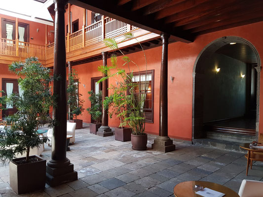 Garachico, Boutique Hotel San Roque, Patio