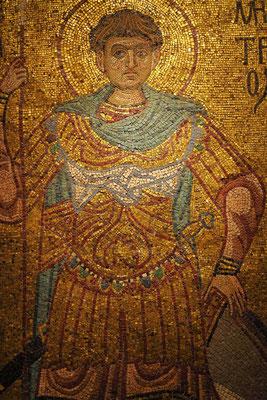 """St. Demetrius von Thessaloniki"", 1108 - 1113, Kiew, Mosaik"