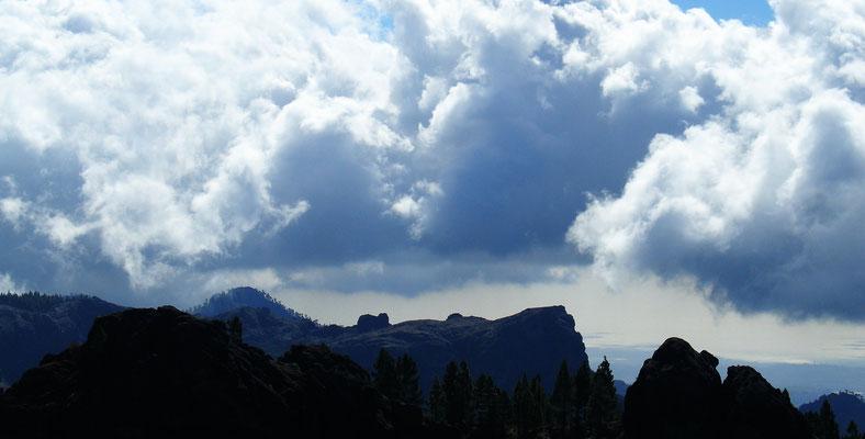Blick vom Roque Nublo nach Westen