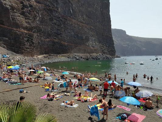 Badestrand von Vueltas im Valle Gran Rey