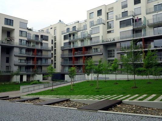 Apartmentanlage in Vinohrady