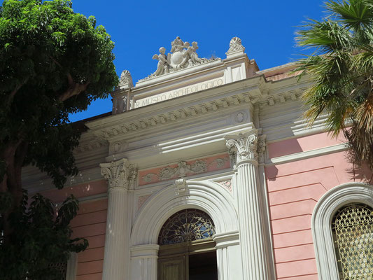 Archäologisches Museum an der Piazza dell Indipendenza