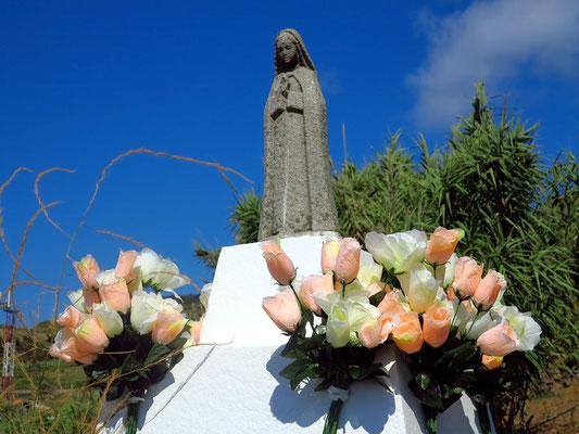 Heiligenverehrung in einem katholischen Land