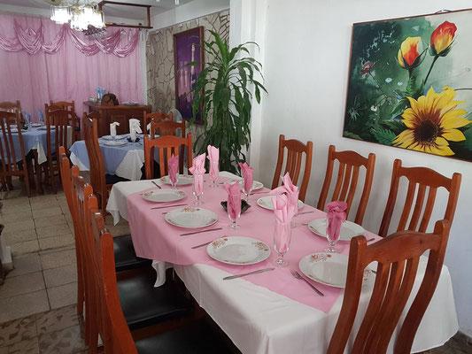 Jardines' Restaurant, Calle Aguilera