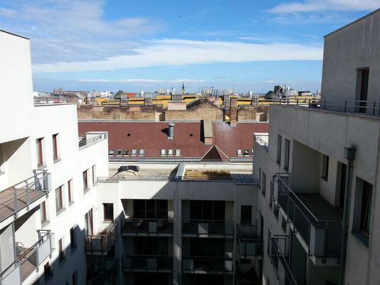 Blick aus meinem Senator Apartment B 705