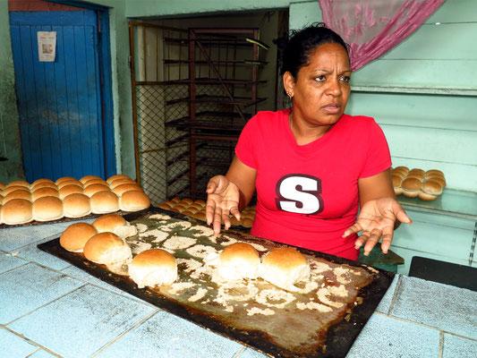 Frisches Brot in einer Bäckerei