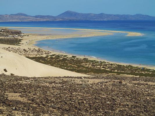 Große Düne und Playa de Sotavento