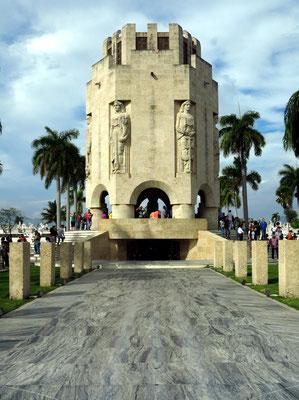 Mausoleum von José Martí, kubanischer Nationalheld