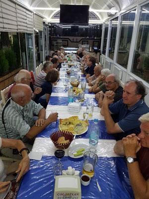 Abendessen im Restoran Çələbi Xan