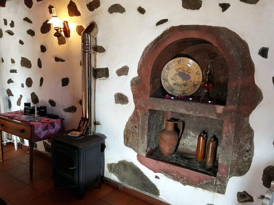 Detail des Wohnzimmers