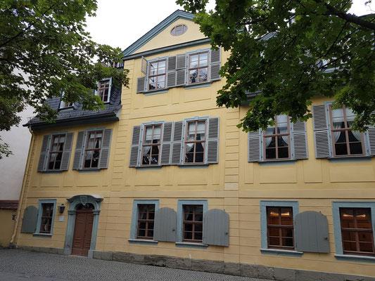 Schiller-Museum, Schillers Wohnhaus von 1802-1805