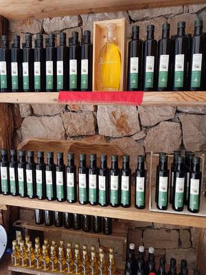 Angebot an Olivenöl