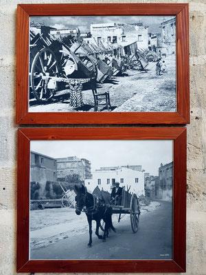 Historisches Foto von Matera