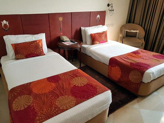 Mein Zimmer im Hotel The Gateway Fatehabad Road