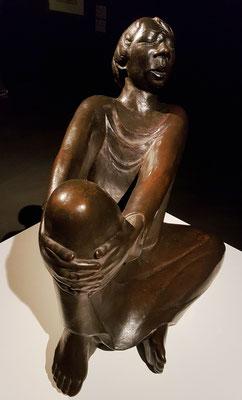 Der singende Mann, 1928. Bronze (Guss zwischen 1930 und 1938)
