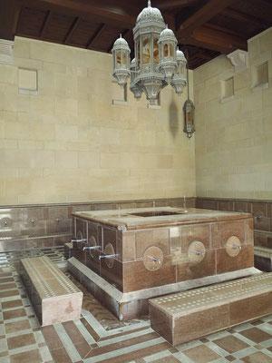 Waschraum für die Männer vor dem Gebet