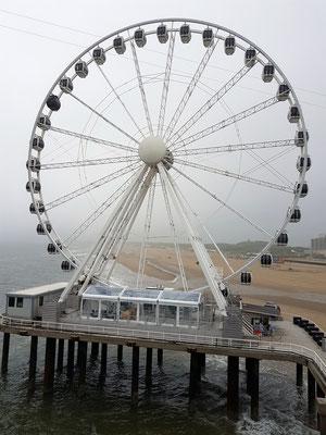 Scheveningen, SkyViewPier mit Riesenrad