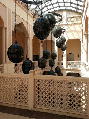Shangri-La's Barr Al Jissah Resort & Spa, Treppenhaus