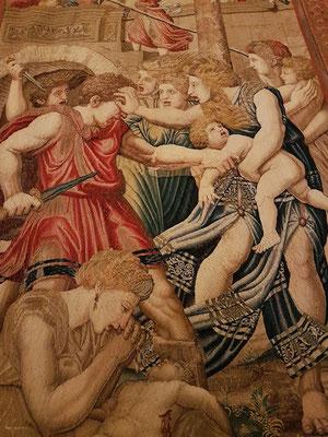 Das Massaker an den Unschuldigen, Flämischer Gobelin, Brüssel 1524-1531
