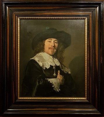 Frans Hals  (1580-1666): Bildnis eines vornehmen Herrn, Öl auf Leinwand