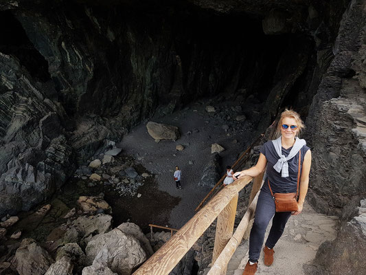 Ajuy, Eingang zur Cueva negra