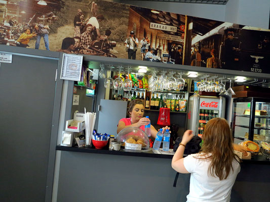 Bar des Museums Emailwarenfabrik Oskar Schindler