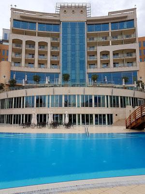 5-Sterne-Hotel Splendid in Budva Bečići, Gartenseite