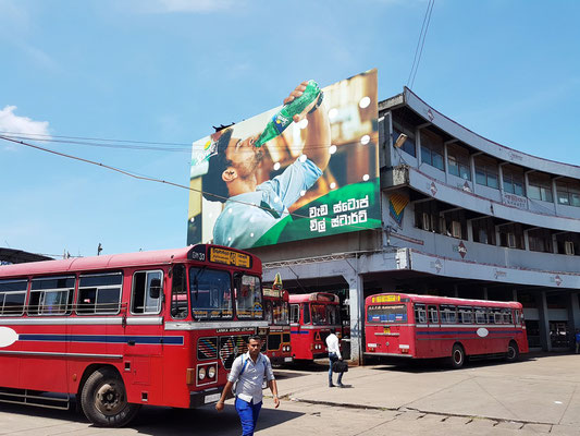 Busbahnhof (Colombo Central Bus Stand)