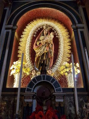 Iglesia Matriz de El Salvador, Altarbild im rechten Seitenschiff