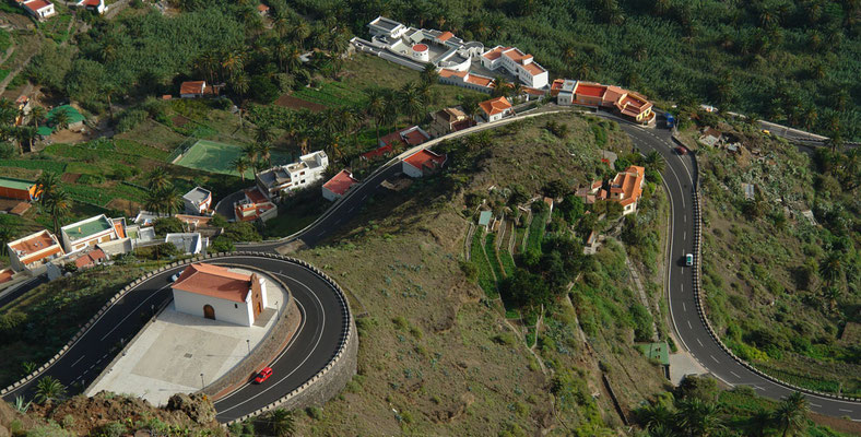 Valle Gran Rey mit der Ermita San Antonio