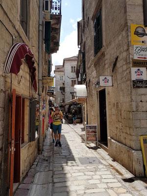 In den Gassen der Altstadt von Kotor