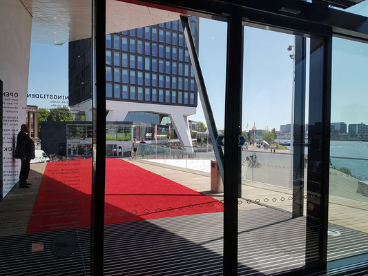 Eingang zum Filmmuseum