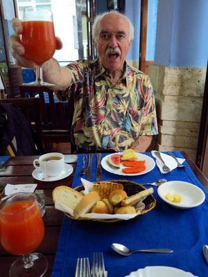 Frühstück in der Dependence