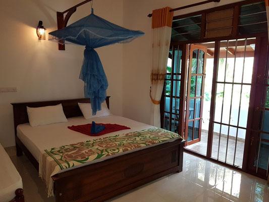 Mein Zimmer in Sisils Villa