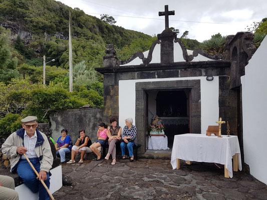 Dorfkapelle in Baía das Canas