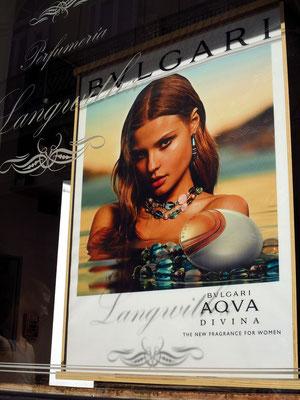 Werbung für Luxusgüter