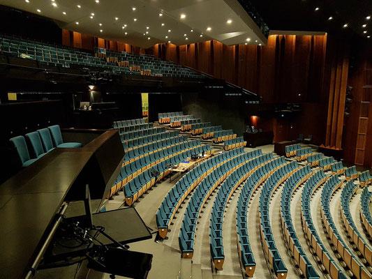 Grand Théâtre de la Ville de Luxembourg, Großer Saal mit 934 Sitzplätzen