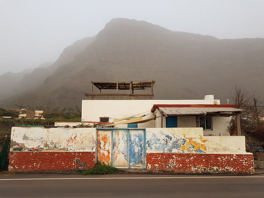 Calima-Wetterlage im Valle Gran Rey