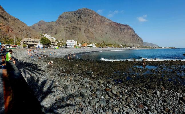 Valle Gran Rey, Playa de la Calera