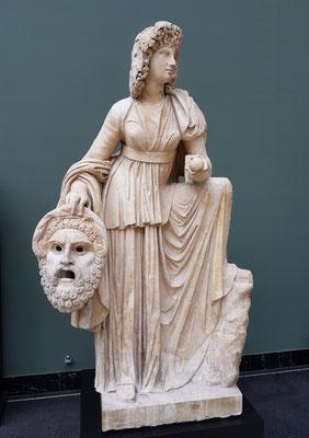 Melpomene,  Monte Calvo, 2. Jh. AD, Marmor