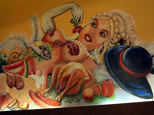Wandmalerei im Slovak Hause, Michalská 2