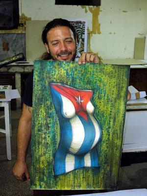 Der Künstler und sein Werk (Taller Experimental de Gráfica)