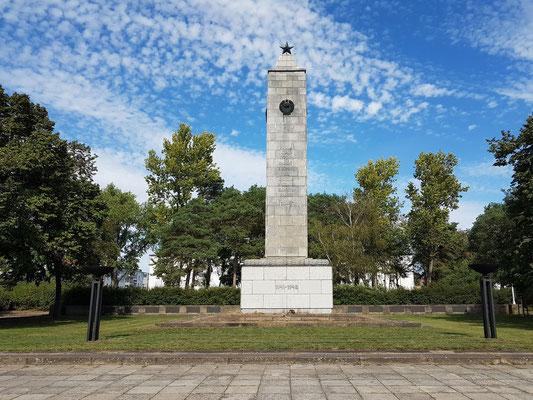 Sowjetisches Ehrenmal am Platz des Gedenkens, ursprünglich Platz der deutsch-sowjetischen Freundschaft