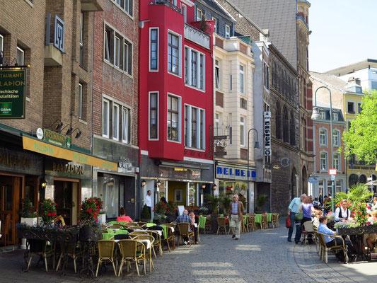 Schmiedstraße, Blick zum Grashaus