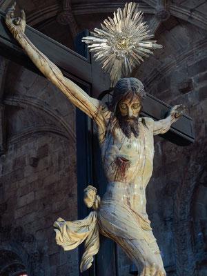 Christusfigur in der Kirche