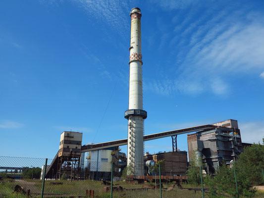 ArcelorMittal Eisenhüttenstadt GmbH: Sinteranlage (Blick von der Industriestraße westlich der Oderlandstraße)