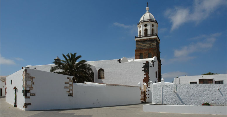 Teguise. Pfarrkirche San Miguel (Nuestra Señora de Guadalupe), Mitte 15. Jahrhundert