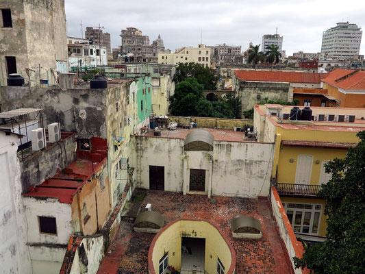 "Blick vom Dach des ""Paladar Tamara"""