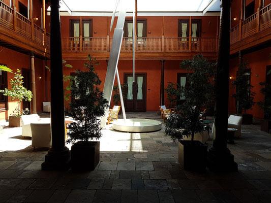 Garachico, Boutique Hotel San Roque, Patio (Eingangsbereich)